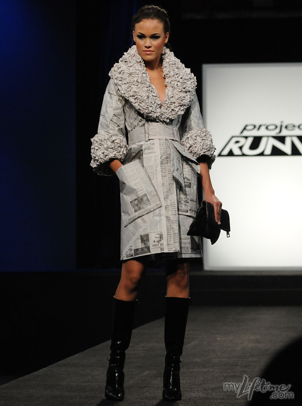 Project Runway Episode 5: Paper!